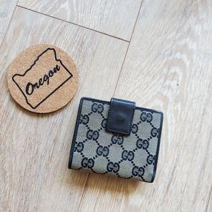 Gucci Vintage Guccissima Wallet